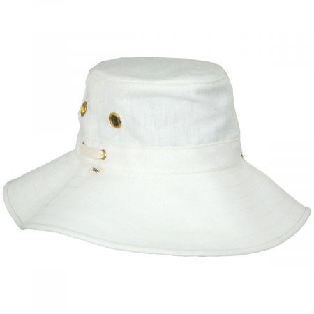 Broadbrim Natural Hemp Fabric Sun Hat alternate view 9