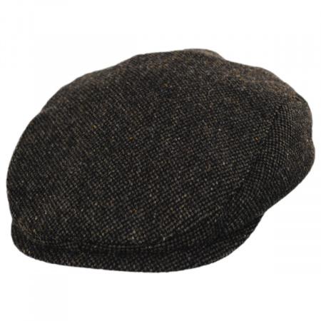 Donegal Brown Shetland Earflap Wool Ivy Cap