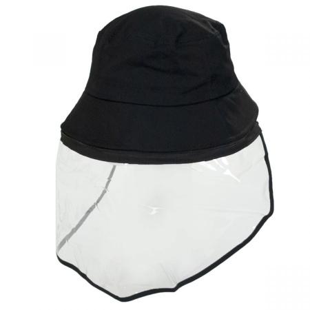 B2B Village Hat Shop Removable Face Shield Bucket Hat