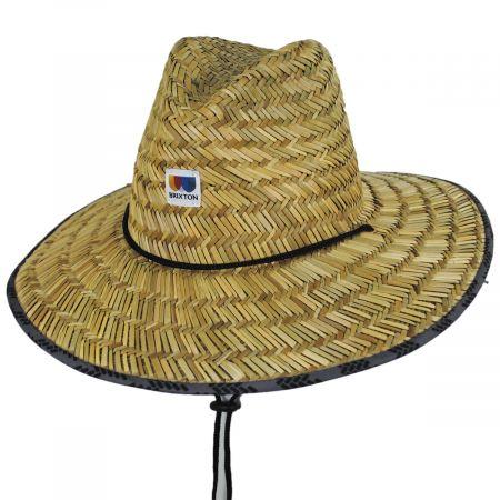 Brixton Hats Alton Rush Straw Lifeguard Hat
