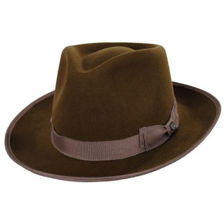 Norfolk Reserve Wool Felt Fedora Hat alternate view 9