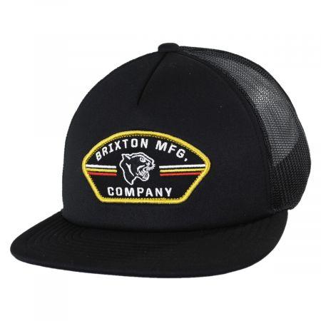 Brixton Hats Rampant MP Trucker Snapback Baseball Cap
