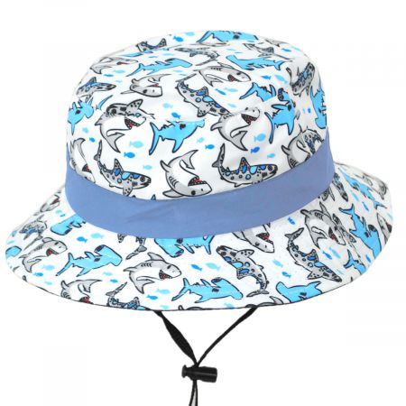 Scala Kids' Thresher Chin Cord Bucket Hat