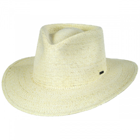 Marco Natural Palm Straw Fedora Hat