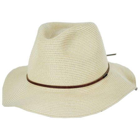 Wesley Braided Toyo Straw Fedora Hat alternate view 5