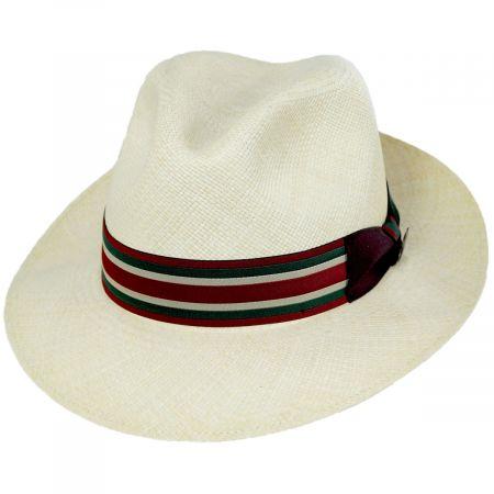 Biltmore Lux Grade 8 Panama Straw Fedora Hat
