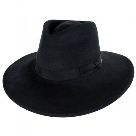 Brixton Hats Jo Wool Felt Rancher Fedora Hat