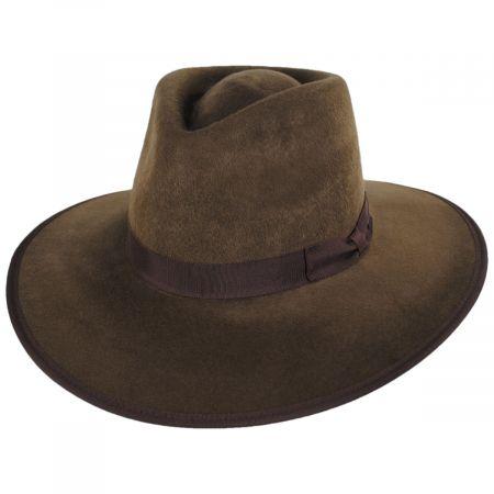 Jo Wool Felt Rancher Fedora Hat alternate view 13