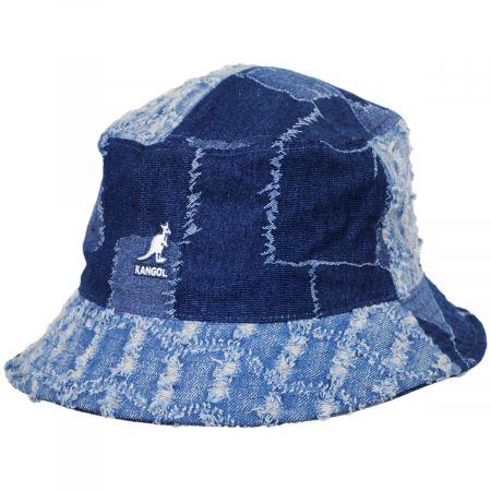 Patchwork Mashup Denim Cotton Bucket Hat alternate view 5