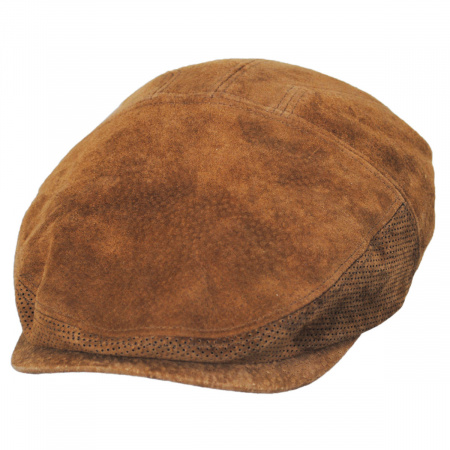 Stetson Wind River Suede Leather Ivy Cap