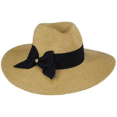 Catalina Toyo Straw Blend Fedora Hat alternate view 5