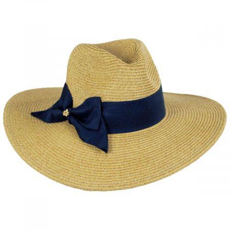 Cappelli Straworld Catalina Toyo Straw Blend Fedora Hat