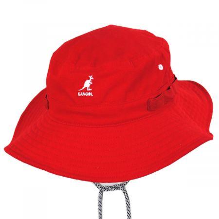 Kangol Jungle Utility Cords Cotton Bucket Hat