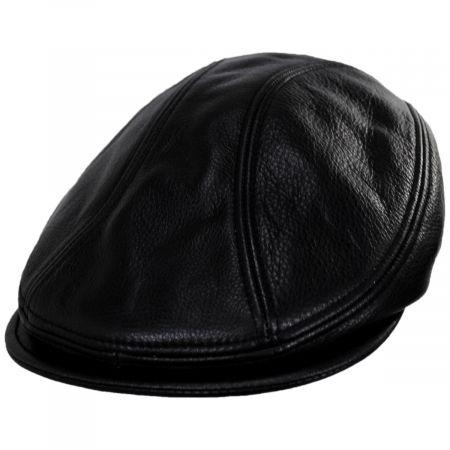New York Hat Company 1900 Lambskin Leather Ivy Cap