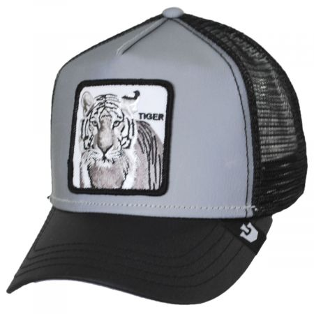 Goorin Bros Reflective Tiger Mesh Trucker Snapback Baseball Cap