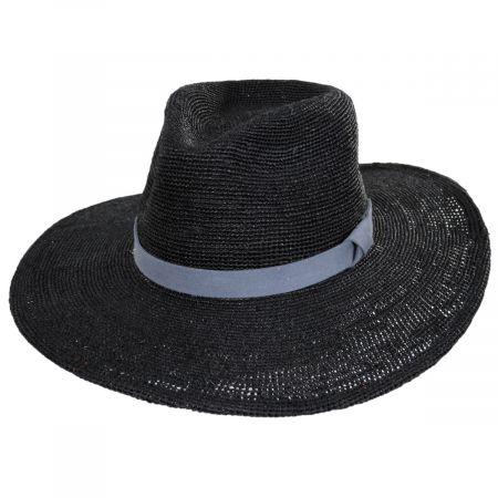 Cloud Nine Raffia Straw Fedora Hat