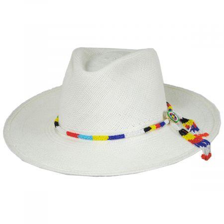 Argonaut Panama Straw Fedora Hat alternate view 10