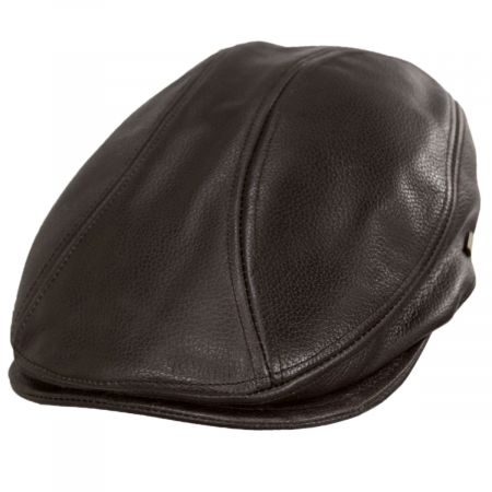 Stetson Dundee Leather Ivy Cap