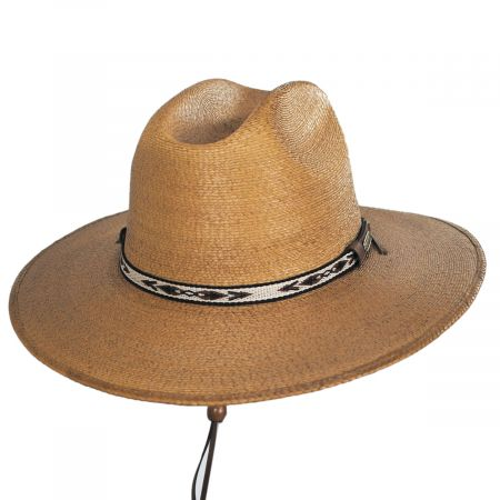 Clearwater Palm Straw Western Hat