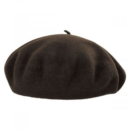 Campan Brown Wool Basque Beret