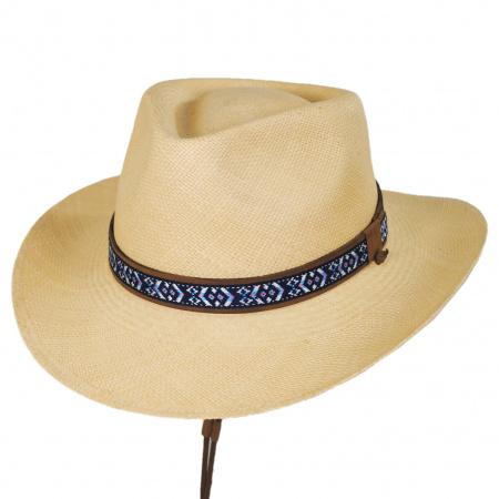 Bigalli Tribu Panama Straw Outback Hat