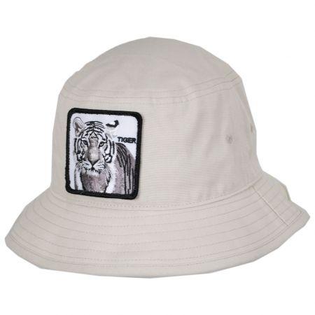 Tiger Cotton Bucket Hat