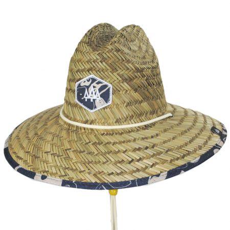 Hemlock Hat Co Harvey Straw Lifeguard Hat