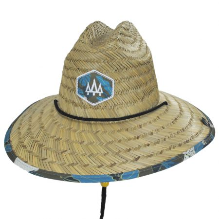 Hemlock Hat Co Sprout Straw Lifeguard Hat