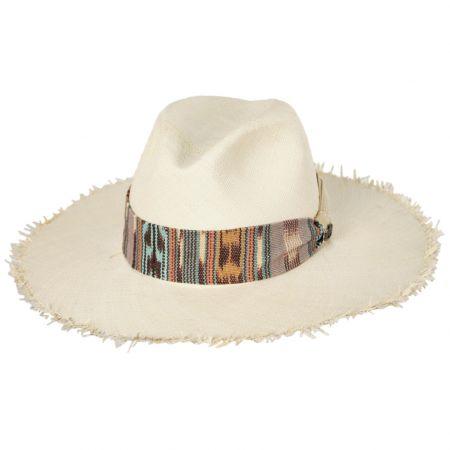 Penwick Panama Straw Fedora Hat