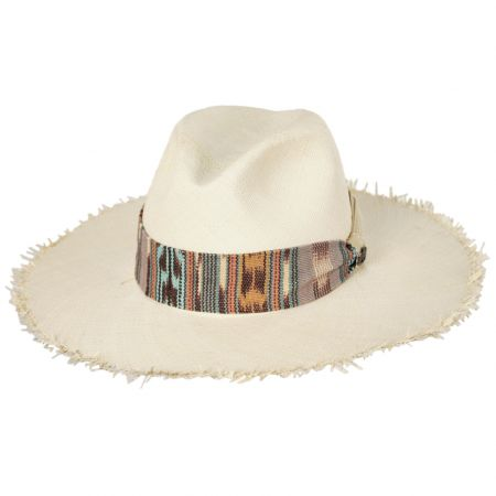 Biltmore Penwick Panama Straw Fedora Hat