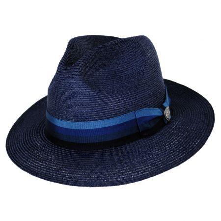 Side Eye Hemp Straw Fedora Hat alternate view 9