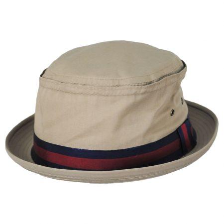 New York Hat Company Fisherman Cotton Blend Bucket Hat