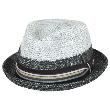 Rokit Toyo Straw Braid Trilby Fedora Hat