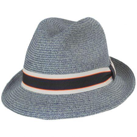 Salem Braided Toyo Straw Fedora Hat alternate view 14