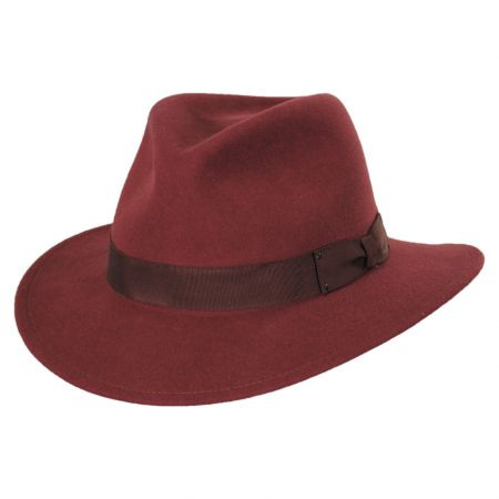 Curtis Wool Felt Safari Fedora Hat alternate view 46