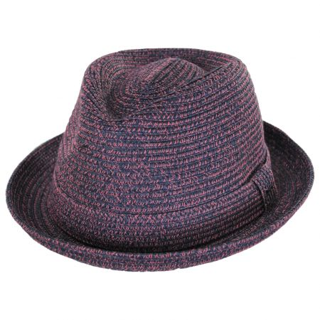 Billy Braided Toyo Straw Fedora Hat alternate view 21