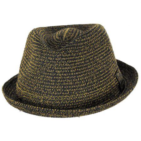 Billy Braided Toyo Straw Fedora Hat alternate view 54