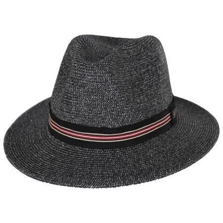 Hester Toyo Straw Blend Fedora Hat alternate view 13