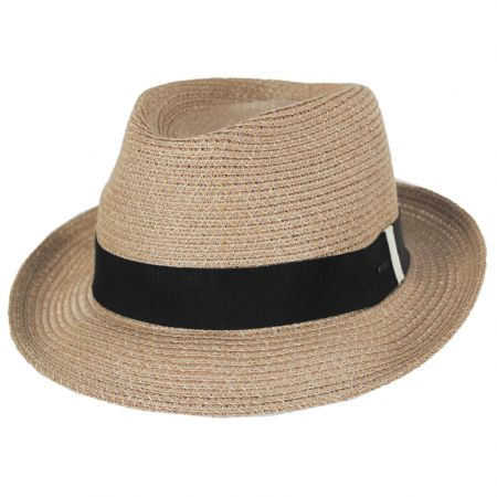 Ronit Toyo Straw Blend Trilby Fedora Hat alternate view 13