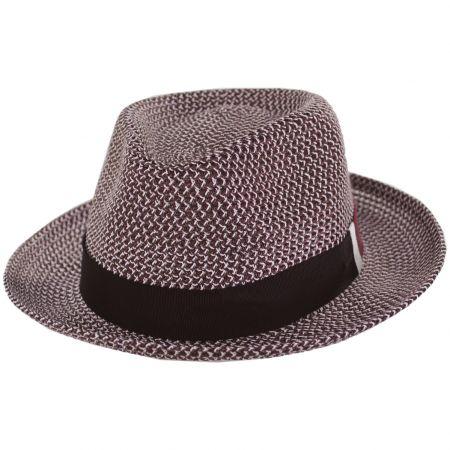 Ronit Toyo Straw Blend Trilby Fedora Hat