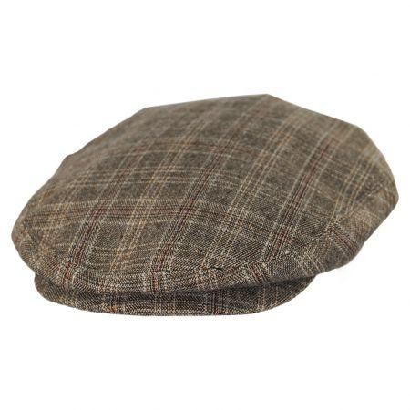 Jaxon Hats Grantville Plaid Rayon Blend Ivy Cap