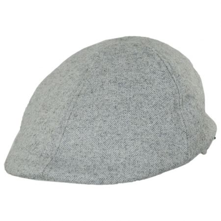 Jaxon Hats Tecolote Herringbone Wool Blend Duckbill Cap