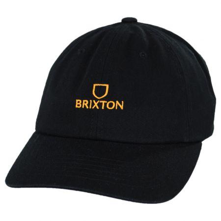 Brixton Hats Alpha LP Cotton Strapback Baseball Cap