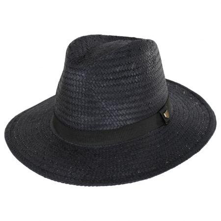 Brixton Hats Passage Wheat Straw Fedora Hat