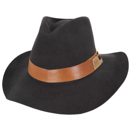 Bailey Covert Rollable LiteFelt Wool Western Hat