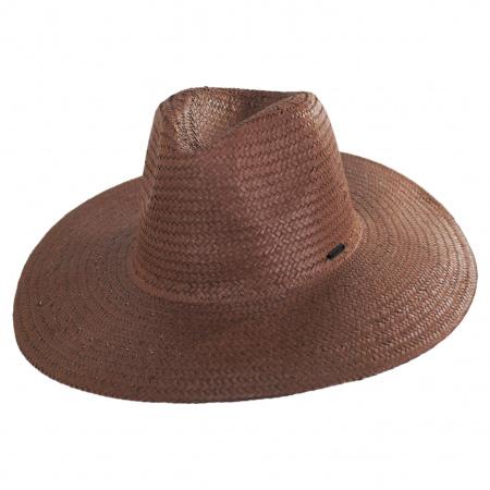 Seaside Toyo Straw Fedora Hat alternate view 9