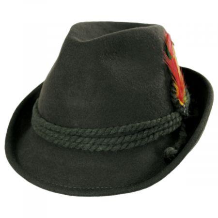 Alpine Wool Felt Fedora Hat alternate view 17