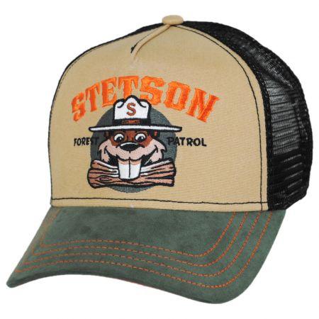 Stetson Forest Patrol Mesh Trucker Snapback Baseball Cap