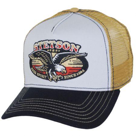 Stetson Free Spirit Mesh Trucker Snapback Baseball Cap