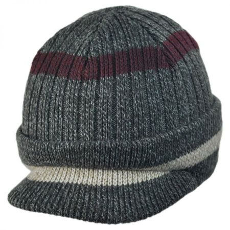 Woolrich Radar Knit Visor Beanie Hat